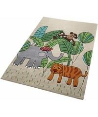 Kinder-Teppich Smart Kids Jungle Friends Tiermotiv handgetuftet SMART KIDS natur 3 (B/L: 110x170 cm),31 (B/L: 130x190 cm),4 (B/L: 150x220 cm)