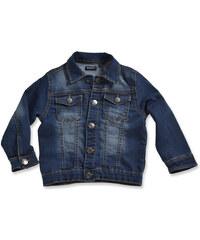 Blue Seven Chlapecká džínová bunda - tmavě modrá