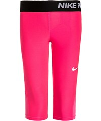 Nike Performance NIKE PRO DRY 3/4 Sporthose hyper pink/black/white