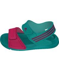 Adidas Dívčí sandály Akwah - zelené