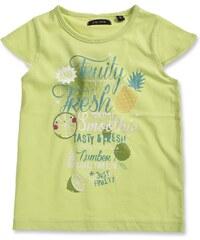 Blue Seven Dívčí tričko - žlutozelené