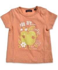 Blue Seven Dívčí tričko s jablíčkem - oranžové