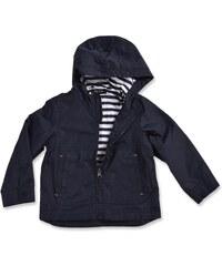 Blue Seven Chlapecká jarní bunda s kapucí - tmavě modrá
