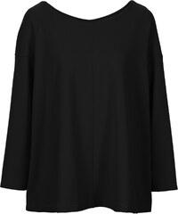 RAINBOW T-shirt scuba noir manches longues femme - bonprix
