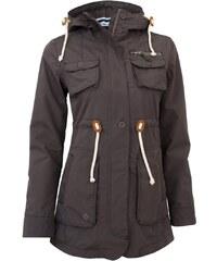 Kabát podzimní dámský WOOX Drizzle Parka Ladies' Grey