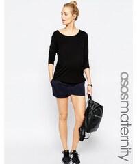 ASOS Maternity - Chino-Shorts - Marineblau