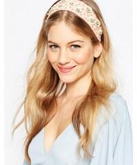 ASOS - Haarband mit Paillettenblumen - Rosa