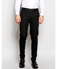 ASOS - Pantalon élégant coupe skinny - Noir - Noir