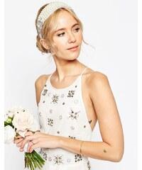 ASOS - WEDDING - Haarband mit Kristallen und Perlen - Mehrfarbig