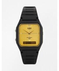 Casio - AW48HE-9A - Montre à cadran doré et bracelet en résine - Noir - Noir