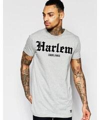 Criminal Damage - Harlem - T-shirt long - Gris