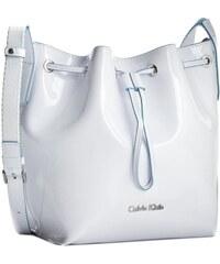 Kabelka CALVIN KLEIN JEANS - Flow Bucket Bag K60K601422 White 101