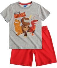 Disney Arlo &Spot Shorty-Pyjama rot in Größe 98 für Jungen aus Oberteil: 60% Baumwolle 40% Polyester Hose: 100% Baumwolle