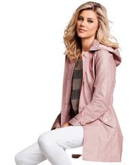 Kabát starorůžová - Normální délka (N)