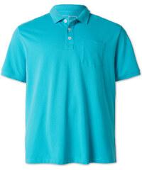 C&A Poloshirt aus Bio-Baumwolle in Türkis