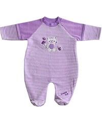 Schnizler Unisex Baby Schlafstrampler Nicki, Wagenanzug, Schlafanzug Kätzchen