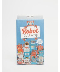 Gifts Luckies - Geschenkpapier mit Roboterdesign - Mehrfarbig