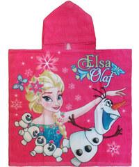 Cerda Pončo Ledové Království Elsa a Olaf bavlna 60/120 cm
