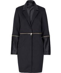 Manteau bi-matière Marcell von Berlin for bonprix noir manches longues femme - bonprix