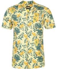 Košile pánská Pierre Cardin Floral Wht/Yell/Green