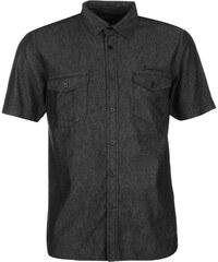 Košile pánská Pierre Cardin Denim III Black