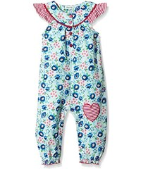 Lilly and Sid Baby - Mädchen Spieler Vintage Floral Woven Playsuit