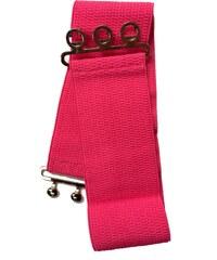 Retro pásek Banned Hot Pink L