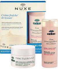 Nuxe Creme Fraiche 24hr Soothing Cream Normal Skin dárková sada W - 50ml Creme Fraiche 24hr Soothing Cream Normal Skin + 100ml Micellar Cleansing Water Pro normální pleť