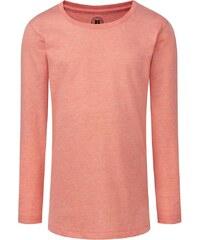 Dívčí triko s dlouhými rukávy - Korálová 116 (5-6)