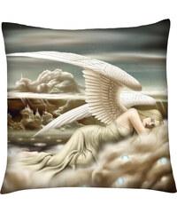 Polštář andělé 09 béžová Mybesthome 40x40 cm Varianta: Povlak na polštář, 40x40 cm