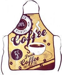 Kuchyňské zástěry RETRO 60x75 cm káva vzor retro styl, Essex