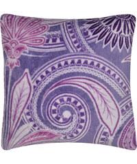 Polštář FLAMENCO Essex 40x40cm, fialová, mikrovlákno geometrický vzor Varianta: Povlak na polštář, 40x40 cm