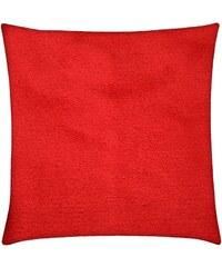 Polštář CLARISA Essex 40x40cm, červená, mikrovlákno Varianta: Povlak na polštář, 40x40 cm
