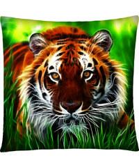 Polštář s motivem tygra 06 Mybesthome 40x40 cm Varianta: Povlak na polštář, 40x40 cm