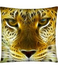 Polštář s motivem leoparda 02 Mybesthome 40x40 cm Varianta: Povlak na polštář, 40x40 cm