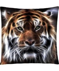 Polštář s motivem tygra 02 Mybesthome 40x40 cm Varianta: Povlak na polštář, 40x40 cm