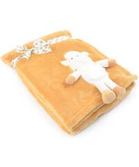Dětská deka s aplikací HUG ME ovečka 75x100 cm Essex