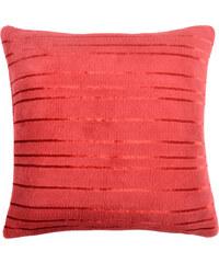 Polštář ALAN Essex 40x40cm, červená, mikrovlákno Varianta: Povlak na polštář, 40x40 cm