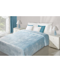 Přehoz na postel ELECTRA 220x240 cm modrá Mybesthome