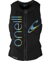 O'Neill Slasher Comp Vest W protection blk/blk