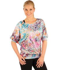 Litex Leopardí triko s netopýřími rukávy 87246