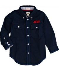 Hatley Chlapecká košile Space Cadet - tmavě modrá