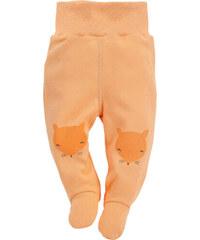 Pinokio Dětské polodupačky s liškou - oranžové