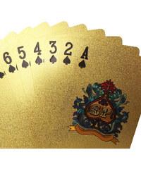 Lesara Spielkarten im gold- oder silberfarbenen Design - Gold