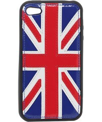 Adaptable Royaume Uni - Coque compatible iPhone4/4S - tricolore