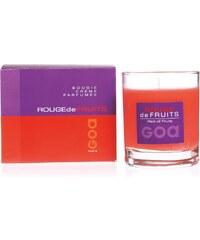 GOA Parfum de maison crème de fruits - Parfümierte Kerze - rot