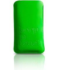 KIRSTEN Iphone - Étui - 4 en cuir en cuir doublé cuir vert