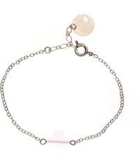 Emma Pill Bracelet - croix rose
