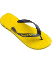 Havaianas brasil logo citrus yellow - Flipflops - zweifarbig