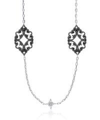 Jade & Gaspard Halskette - weiß